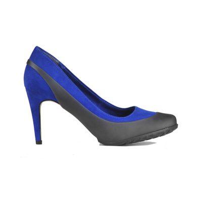 Женские галоши на туфли с каблуком 36-39 размер, черный цвет