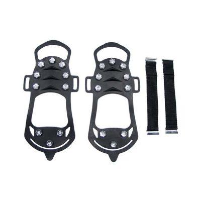 Ледоходы (антискользители) для обуви, предотвращают скольжение в гололед. С креплением в комплекте.
