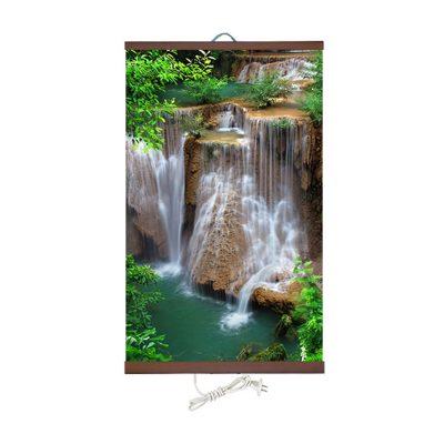 """Настенный обогреватель картина """"Водопад Джур Джур"""" для дома."""