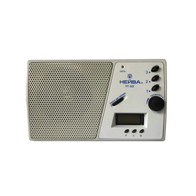 Радиоприемник Нейва ПТ 322, 9966 используется для воспроизведения трех программ.-2
