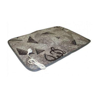 Электрически коврик для сушки обуви в сером цвете размером 50x70 см.