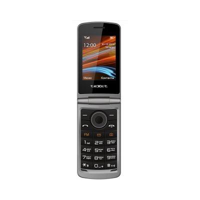 Телефон-раскладушка Texet TM-404. Вид внутри.