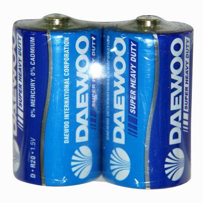 Батарейка большая круглая R20 1,5v.