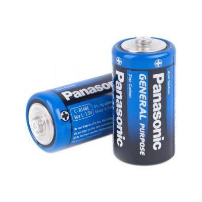 Батарейка круглая Panasonic R14 1.5V