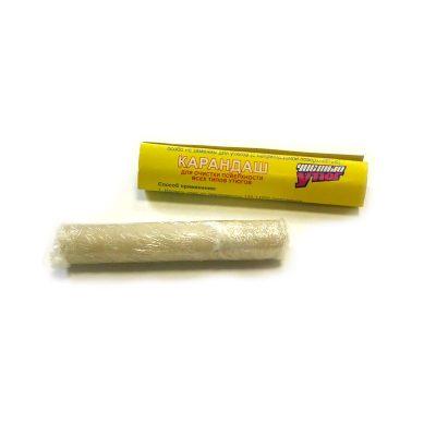 Карандаш для утюга очищает поверхность от накипи и ржавчины.