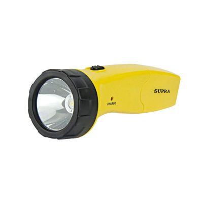 Фонарь светодиодный Supra SFL-PLR-1L, желтый цвет. Для дома и дачи.