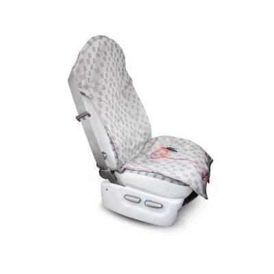 Грелка для сиденья автомобиля TL-12-2 Инкор размером 52х130 см для дальнобойщиков.